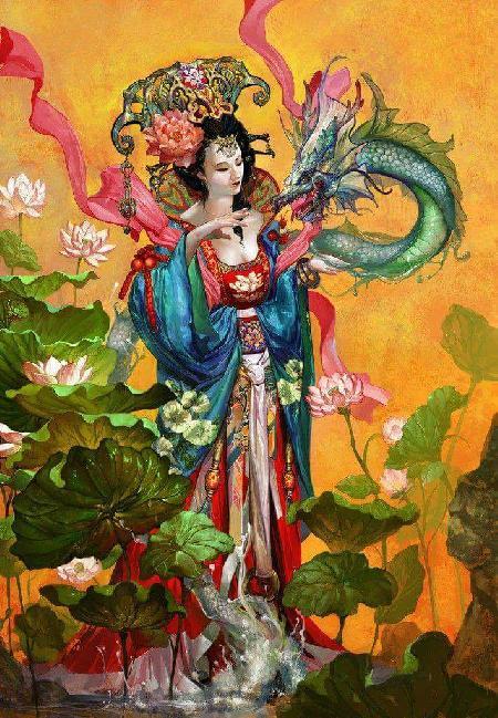 Dương Quý Phi - Tu Hoa Sắc Mỹ Nhân (Một trong tứ đại mỹ nhân Trung Quốc))
