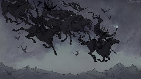Herla - một vị vua trong đoàn Wild Hunt