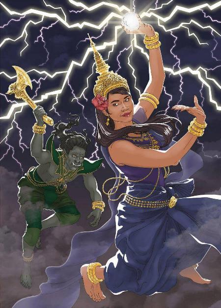 Nữ thần mưa Moni Mekhala