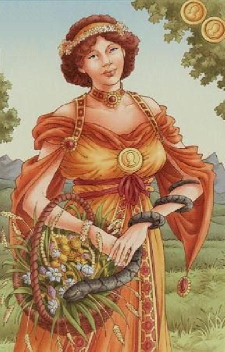 Nữ thần Rosmerta và người chồng bên La Mã - Mercury