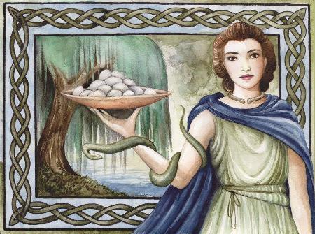 Nữ thần y thuật của Celtic - Sirona - vợ thần mặt trời Apollo của La Mã