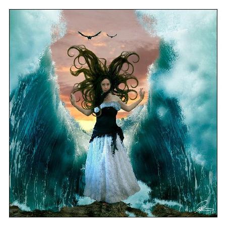 Nữ thần biển cả Vellamo của Phần Lan