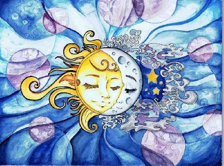 Mặt trời và mặt trăng