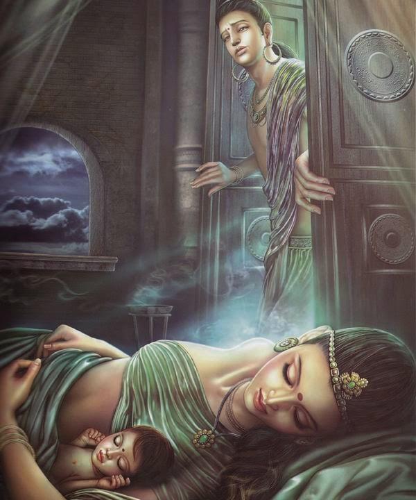 Thái Tử rời khỏi hành cung để đi tìm chân lý cuộc đời