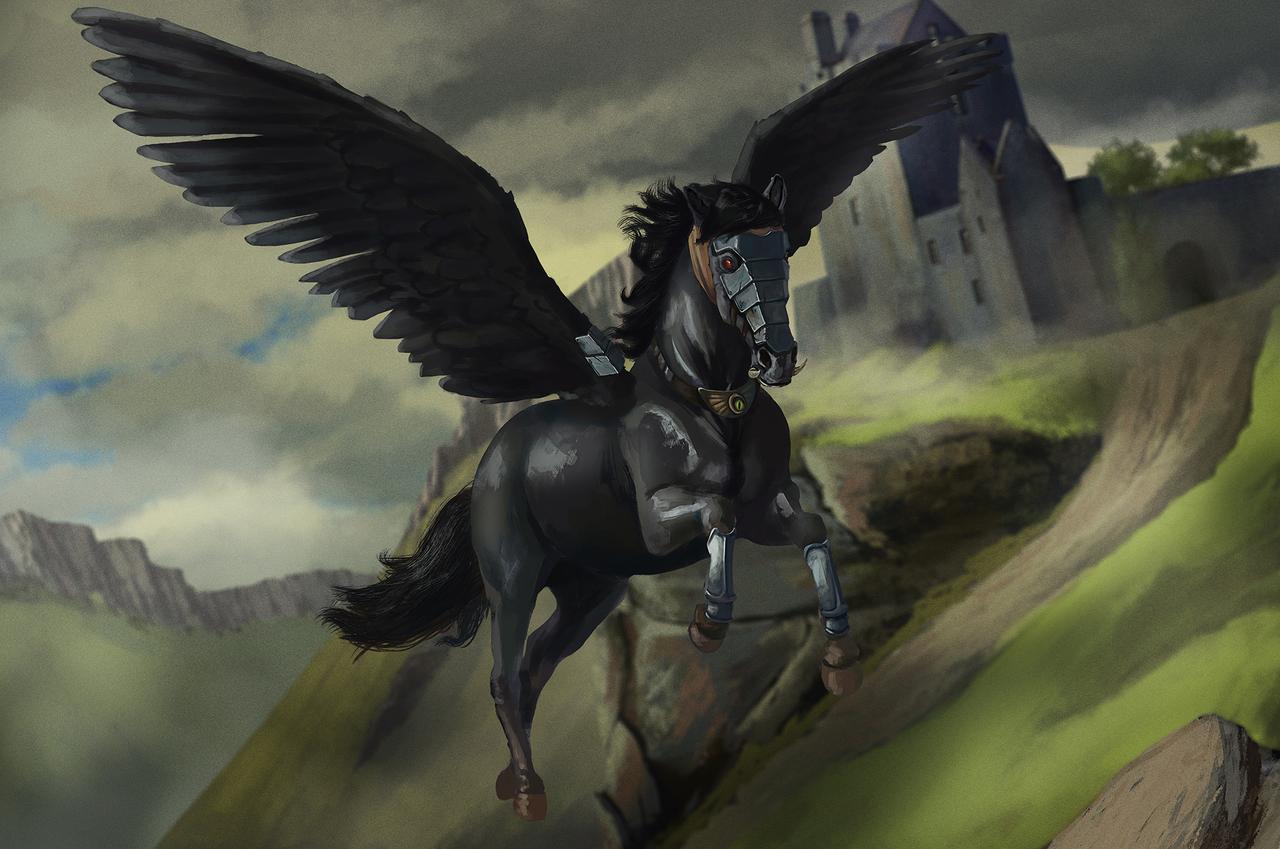 Tulpar là loài ngựa có cánh trong thần thoại Turkic