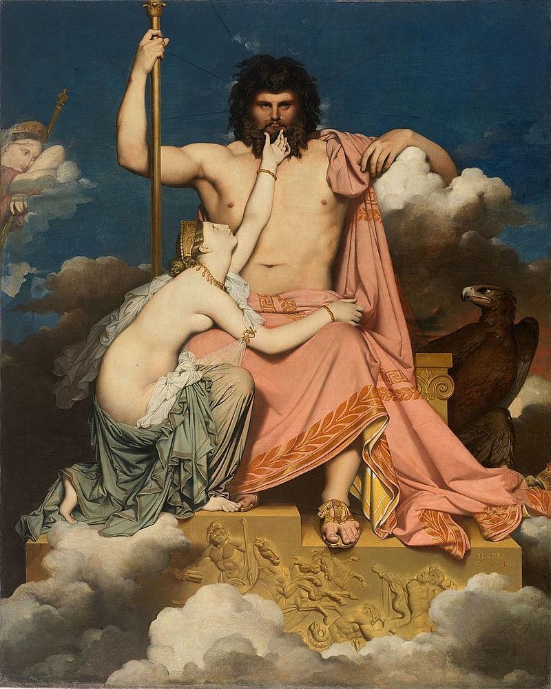 Thetis-Zeus