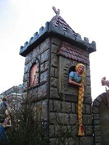 Rapunzel – Dresden ở Saxony, Đức.