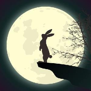 Con thỏ mặt trăng